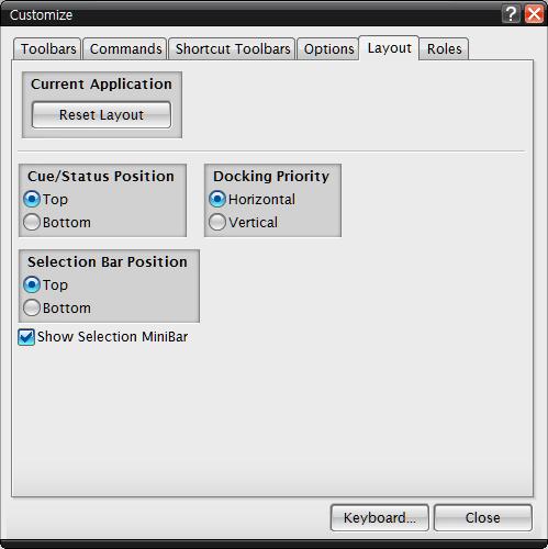 UGNX 7.5 3강 Customize 커스텀마이즈 단축키 (10).PNG